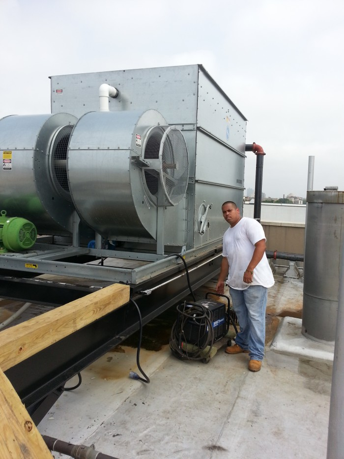 Installation Of New Cooling Towers Amp Dunnage Amp Removals