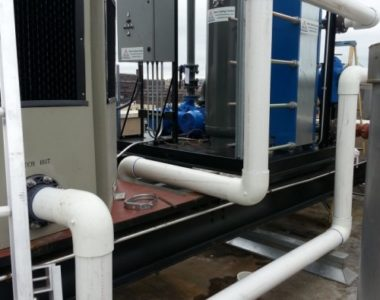 Installation of New Cooling Towers & Dunnage & Removals